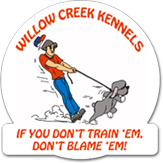 Willow Creek kannel logo
